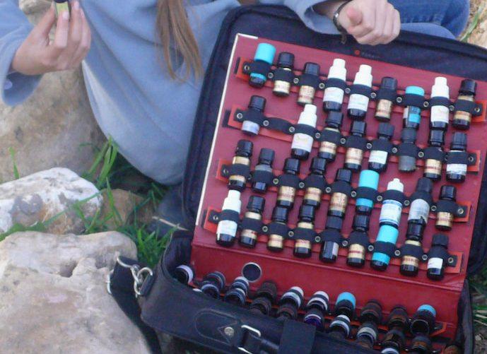 Essential oils and animals